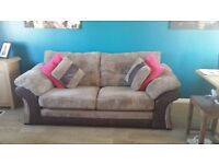 3 Seater Sofa in Nutmeg