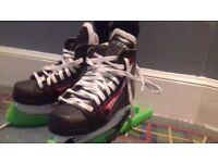 Childs size 1 ice skates