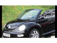 Volkswagon Beetle convertable semi auto