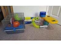 Rotastak hamster/mouse homes with tubing + accessories