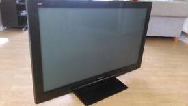 "PANASONIC VIERA TXP42S21B Plasma Television. 42"". Used, in good condition. Includes remote"