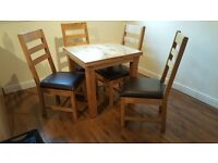 Cotswold Dining Table and 4 Chairs