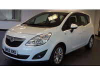 2013 62 VAUXHALL MERIVA 1.4 ACTIVE 5d 99 BHP, 1 Owner, FULL VAUXHALL SERVICE RECORD, HALF