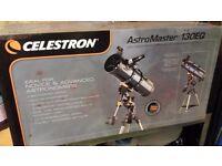 Telescope - Celestron 130 EQ For ADVANCED & NOVICE ASTRONOMERS New
