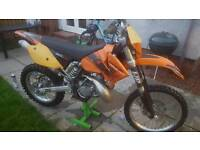 ktm 200 exc 2004 road registered
