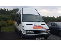IVECO IRIS BUS. 17 Seater Minibus. Comes with 11 MONTHS PSV MOT