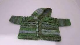 Baby boy Hoodie/Knitted jumper Newborn