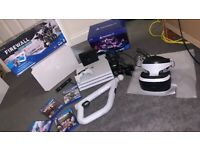 PlayStation 4 pro 1tb with psvr and 2 move controllers and the best games