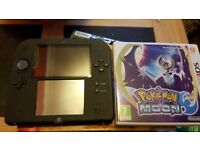 Nintendo 2DS with Pokemon Moon nearly new