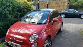 Fiat 500 automatic for sale