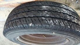 Mercedes Vito wheels and tyres (4)