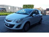 2013 Vauxhall corsa 1.0 petrol 3 door hatchback 12 months mot genuine low mileage