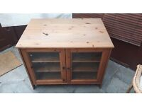 TV/Storage Cabinet for sale, antique pine good condition