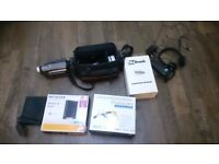 JVC Camcorder with 6 tapes
