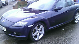MAZDA RX-8 1.3 4 DOOR COUPE 2007 MANUAL £1050
