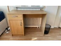 Muji style wooden office table/ study table - great for home working