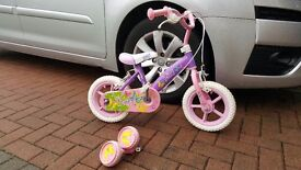 Girls bicycles 8 inch & 12 inch