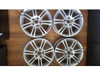 Brand new 16 inch vauxhall genuine Irmscher wheels set 6.5J16H2 ET39 bargain
