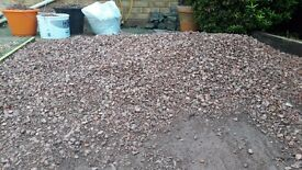 Red gravel for sale. £20