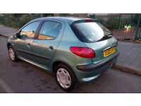 Peugeot 206, 1.4 HDI, Diesel (£30 year road tax)