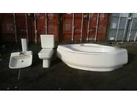 Ideal standard bathroom suite.