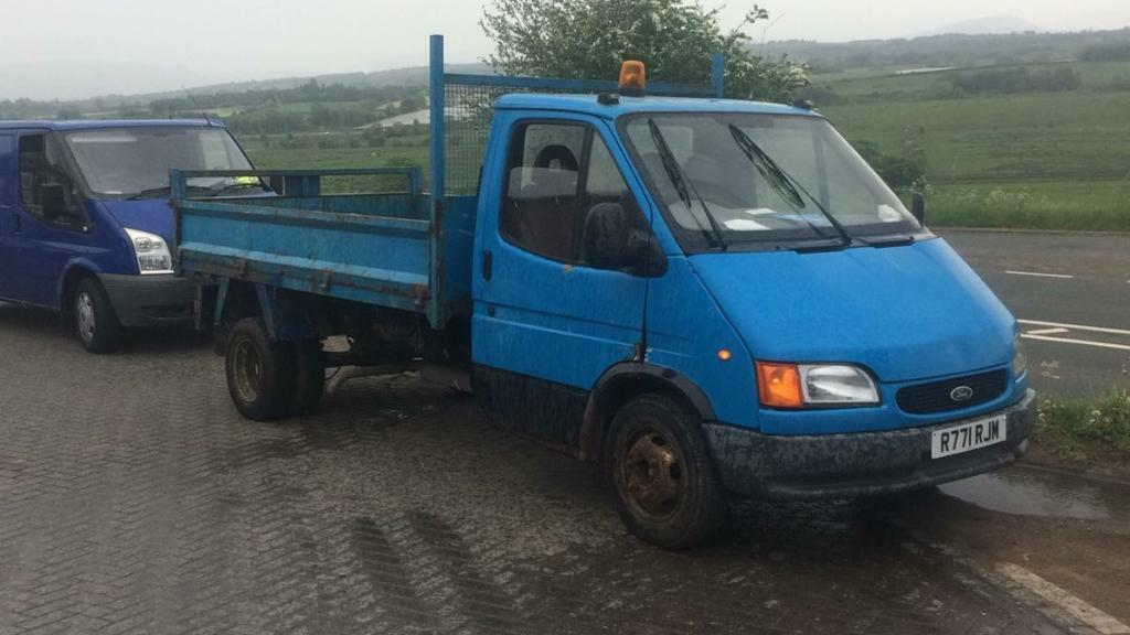 83ba585bed Ford transit tipper export 2.5 banana engine