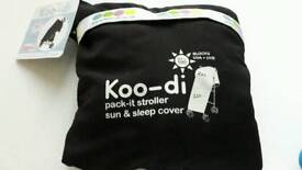 Koo-di sun and sleep stroller cover