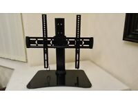 Swivel Tabletop TV Base Stand for most 32-55 inch TV Mount Bracket