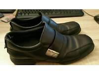 Ben Sherman Black Formal Shoes (Leather - Size 9) Mens