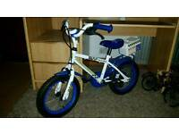 2 childrens bikes girls and boys