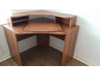 Small Office Set Up in very good condition, fully assembled and barely used