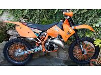 Ktm sx 125 2 stroke motocross