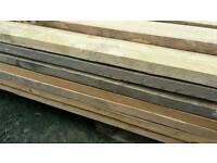 Reclaimed timber joist 8x2