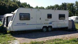 Caravan Bailey ranger 620 6 berth 2009 & new full awning all accessories. £7995.00 call 07445341978
