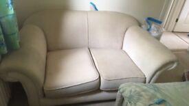 Small cream sofa