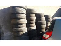 free tyres to uplift