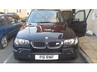Bmw x3 3.0i full history 4 brand new tyres and pads