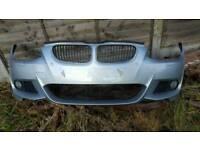 BMW 3 SERIES - LCI - MSPORT -- *** FRONT BUMPER *** E92 / E93 ( FITS 2010 - 2013 ) - COMPLETE