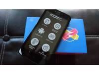 "Brand New MOTOROLA MOTO C 1+ XT1754 5"" screen STARRY BLACK 16GB SMARTPHONE"