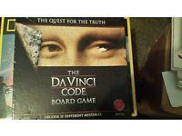 The da vinca code board game