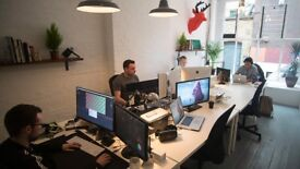 1 - 3 Desks to rent in a privately run creative studio, right in the heart of Shoreditch