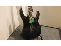 Ibanez RG7321 7-String Electric Guitar, Black - Collection Only.