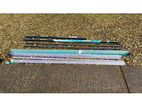 diawa 10m fishing pole used for 2 hours