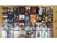 Huge collection of DVDs (more than 100)
