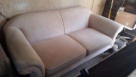Laura Ashley 3 seater cream sofa