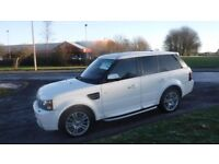 LAND ROVER RANGE ROVER SPORT,HST 3.6 TDV8,2009,Black Leather,Sat Nav,Active Cruise,Paring Sensors,