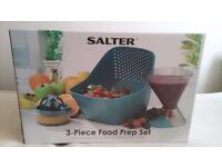 SALTER 3 in 1 food preparation set BRAND NEW