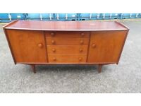 Vintage Retro Solid Afromosia Mid Century Sideboard by Younger,We Can Deliver