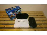PS Vita Wi-Fi PCH-2016 boxed with case