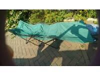Folding camp beds x 2